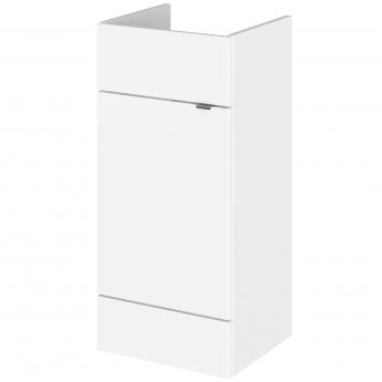 Hudson Reed Fusion Vanity Unit 400mm Wide - Gloss White