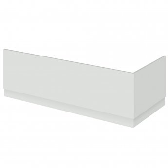 Hudson Reed Fusion Bath End Panel and Plinth 560mm High x 700mm Wide - Gloss Grey Mist
