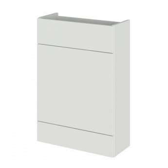 Hudson Reed Fusion Compact Back to Wall WC Unit 600mm Wide - Gloss Grey Mist