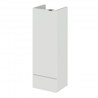 Hudson Reed Fusion Compact Base Unit 300mm Wide - Gloss Grey Mist