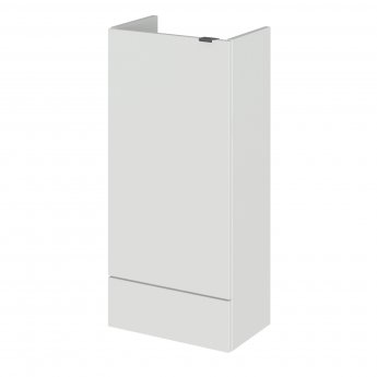 Hudson Reed Fusion Compact Base Unit 400mm Wide - Gloss Grey Mist