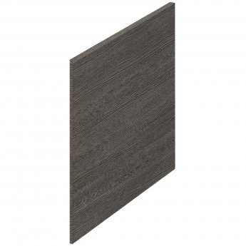 Hudson Reed MFC Shower Bath End Panel 520mm H x 700mm W - Brown Grey Avola