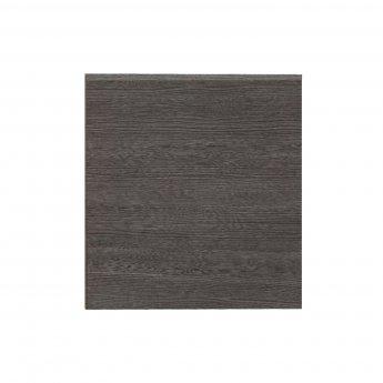 Hudson Reed MFC Shower Bath End Panel 520mm H x 700mm W - Brown Grey Avola