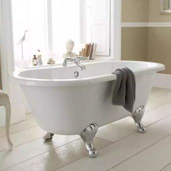 Hudson Reed Grosvenor Freestanding Bath, 1700mm x 745mm, Corbel Leg Set