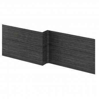 Hudson Reed MFC Shower Bath Front Panel 520mm H x 1700mm W - Hacienda Black
