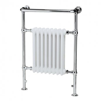 Hudson Reed Harrow Heated Towel Rail 965mm H x 673mm W Chrome