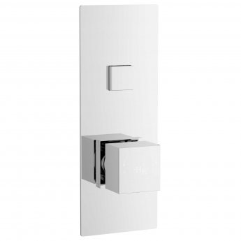 Hudson Reed Ignite Thermostatic Concealed 1 Outlet Shower Valve Single Handle - Square
