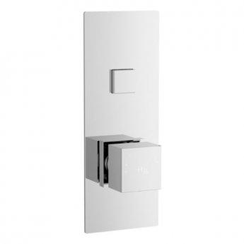 Hudson Reed Ignite Concealed 1 Outlet Shower Valve Single Handle - Square
