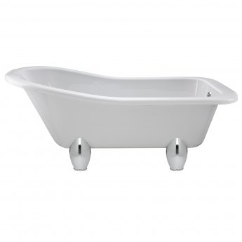 Hudson Reed Kensington Freestanding Slipper Bath 1500mm x 730mm - Deacon Leg Set