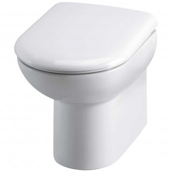 Hudson Reed Linton Back To Wall Pan 370mm Wide - Soft Close Seat