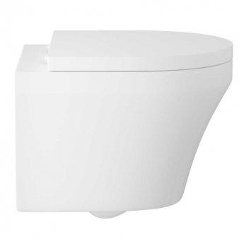 Hudson Reed Luna Wall Hung Pan 360mm Wide - Soft Close Seat