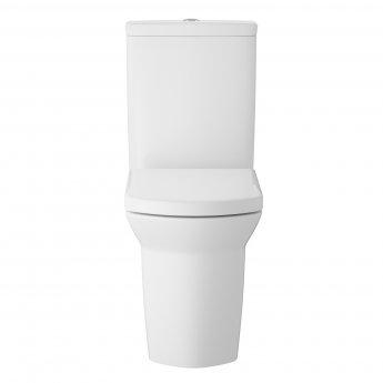 Hudson Reed Maya Flush to Wall Pan with Cistern - Soft Close Seat