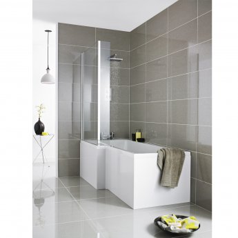 Hudson Reed MDF Front Bath Panel 540mm H x 1700mm W - Gloss White
