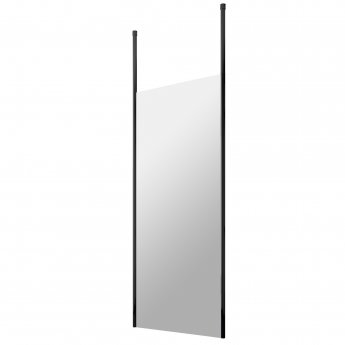 Hudson Reed Wet Room Screen with Ceiling Post 700mm Wide - 8mm Glass