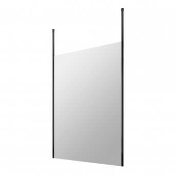 Hudson Reed Wet Room Screen with Ceiling Post 1400mm Wide - 8mm Glass