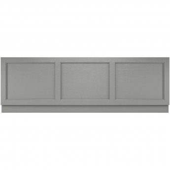 Hudson Reed Old London Bath Front Panel 560mm H x 1695mm W - Storm Grey