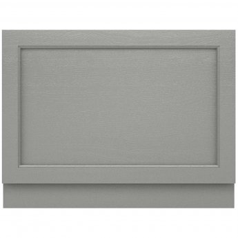 Hudson Reed Old London Bath End Panel 560mm H x 730mm W - Storm Grey