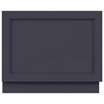 Hudson Reed Old London Bath End Panel 560mm H x 680mm W - Twilight Blue