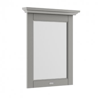 Hudson Reed Old London Bathroom Mirror 600mm Wide - Storm Grey