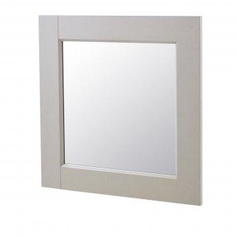 Hudson Reed Stone Grey Bathroom Furniture Mirror 600mm H x 600mm W