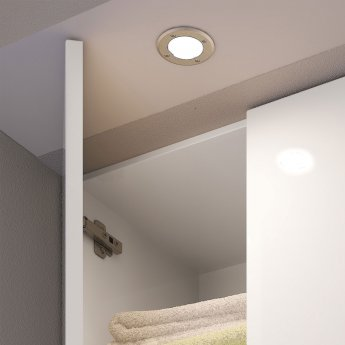 Hudson Reed Orca Surface/Recessed Cabinet Light - Warm White