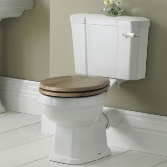 Hudson Reed Richmond Close Coupled Toilet WC with Cistern - Excluding Seat