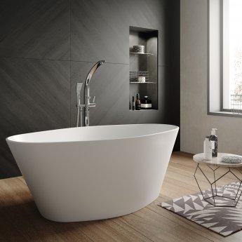 Hudson Reed Rose Freestanding Bath 1510mm x 760mm - White