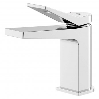 Hudson Reed Soar Mono Basin Mixer Tap with Waste - Chrome