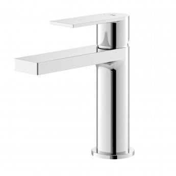 Hudson Reed Sottile Mono Basin Mixer Tap with Waste - Chrome