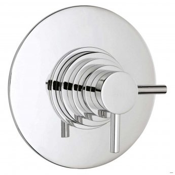 Hudson Reed Tec Dual Concealed Shower Mixer with Shower Kit + Fixed Head - Chrome