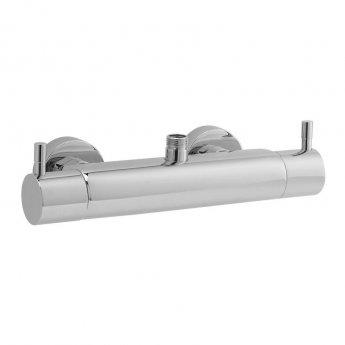 Hudson Reed TMV2 Minimalist Bar Shower Valve Top/Bottom Outlet - Chrome