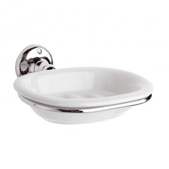 Hudson Reed Traditional Soap Dish - Chrome