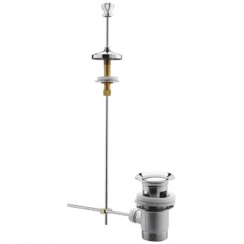 Hudson Reed Traditional Basin Pull Up Waste - Chrome