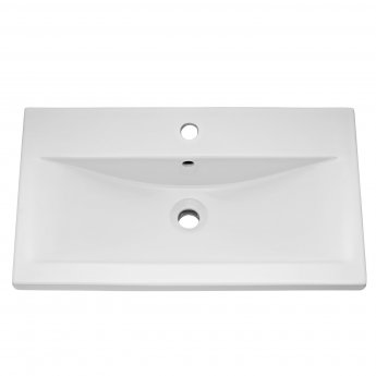 Hudson Reed Urban 1 Wall Hung Vanity Unit with Basin 1 Cashmere - 800mm Wide