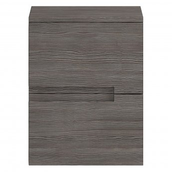 Hudson Reed Urban Small Side Cabinet, 400mm Wide, Brown Grey Avola