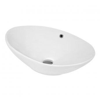 Hudson Reed Vessel Sit-On Countertop Basin 588mm Wide - 0 Tap Hole