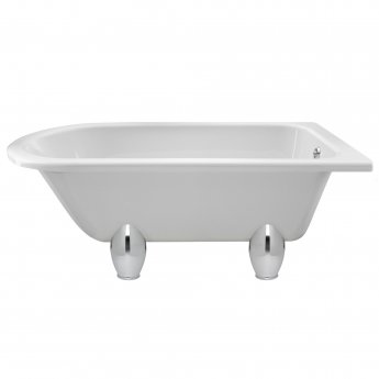 Hudson Reed Winterburn Freestanding Bath 1500mm x 750mm - Deacon Leg Set