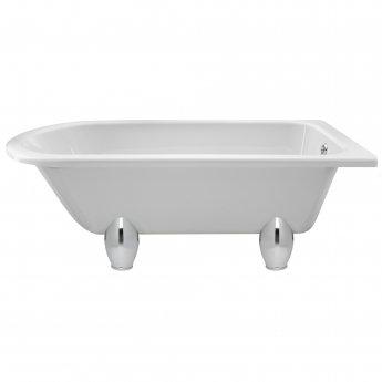Hudson Reed Winterburn Freestanding Bath 1700mm x 750mm - Deacon Leg Set
