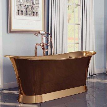 Hurlingham Alverton Freestanding Copper Bath - 0 Tap Hole