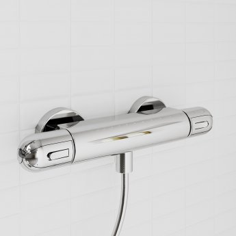 Ideal Standard Alto EV Thermostatic Shower Pack with Idealrain S1 Shower Kit - Chrome
