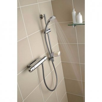 Ideal Standard Alto Ecotherm Thermostatic Shower Bar Valve Chrome