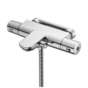Ideal Standard Alto Ecotherm Thermostatic Shower Bar Valve Bottom Outlet Chrome