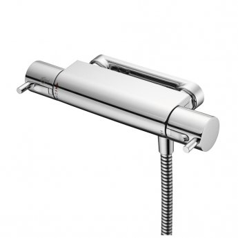 Ideal Standard Alto Ecotherm Thermostatic Exposed Shower Valve with Lever Handles Chrome