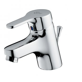 Ideal Standard Alto Single Lever Basin Mixer Tap with Pop Up Waste Chrome