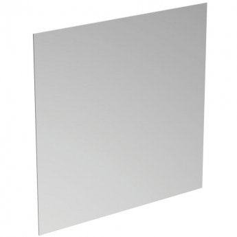 Ideal Standard Bathroom Mirror with Ambient Light and Anti-Steam 700mm H x 700mm W