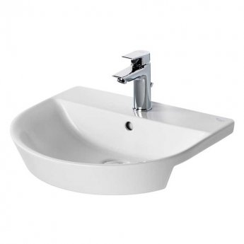 Ideal Standard Concept Air Arc Semi - Countertop Basin 500mm Wide 1 Tap Hole