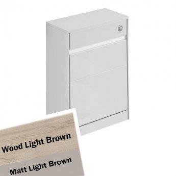 Ideal Standard Concept Air WC Unit with Worktop 600mm Wide - Wood Light Brown / Matt Light Brown