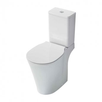 Ideal Standard Concept Air Close Coupled Toilet with 4/2.6 Litre Cistern - Standard Seat