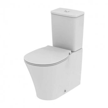 Ideal Standard Concept Air Close Coupled Back to Wall Toilet with 6/4 Litre Cistern - Standard Seat