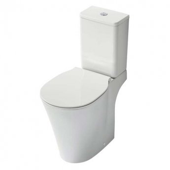 Ideal Standard Concept Air Close Coupled Full Access Toilet with 6/4 Litre Cistern - Soft Close Seat